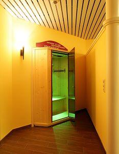 cabina a infrarossi